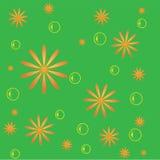 Abstrakter grüner nahtloser Hintergrund Stockfotos