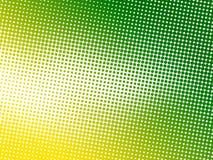 Abstrakter grüner Punkthintergrund Stockfotografie