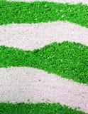 Abstrakter grüner Sand Stockbild