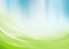 Abstrakter grüner und blauer Hintergrund Lizenzfreie Stockfotos
