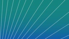 Abstrakter grüner und blauer Steigungshintergrund mit Streifen im unterschiedlichen Winkel Auch im corel abgehobenen Betrag lizenzfreie abbildung