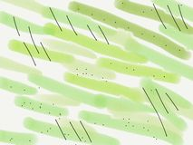 Abstrakter gr?ner Hintergrund Hand-drowing Rasterillustration f?r Entwurf und Dekor lizenzfreies stockfoto