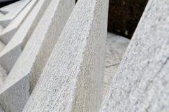 Abstrakter Grabstein in christlichem cementary in Lugano, die Schweiz Lizenzfreies Stockbild