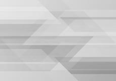 Abstrakter grafischer Hintergrund Geometrische Technologie Lizenzfreie Stockbilder