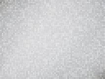 Abstrakter grauer Mosaikhintergrund Lizenzfreie Stockbilder