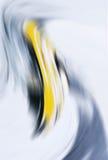 Abstrakter grauer und gelber Hintergrund Lizenzfreie Stockfotografie