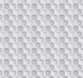 Abstrakter Gray Cube Seamless Pattern Stockfotografie