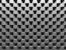 Abstrakter Gray Round Pattern Wall Architecture-Hintergrund Stockbild