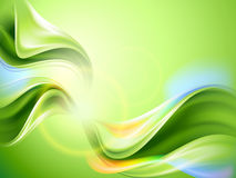 Abstrakter grüner Hintergrund Stockfoto