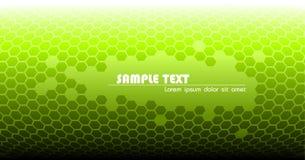 Abstrakter grüner technischer Hintergrund Lizenzfreie Stockfotografie
