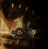 Abstrakter grunge Hintergrund Lizenzfreie Stockfotos