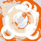 Abstrakter grunge Hintergrund mit Radialanschlägen Lizenzfreie Stockfotos