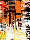 Abstrakter grunge Hintergrund, Vektor Lizenzfreies Stockbild