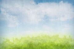 Abstrakter grunge Landschaftshintergrund Lizenzfreie Stockbilder