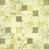 Abstrakter grunge Mosaikflieseraster Lizenzfreie Stockfotografie