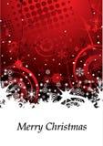 Abstrakter Grunge Winter-Hintergrund Lizenzfreie Stockbilder