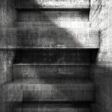 Abstrakter grungy dunkler Betonmauerhintergrund vektor abbildung
