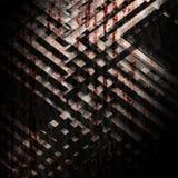Abstrakter grungy dunkler quadratischer Hintergrund lizenzfreie abbildung