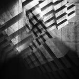 Abstrakter grungy konkreter Hintergrund 3d stock abbildung