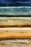 Abstrakter hölzerner Hintergrund Lizenzfreies Stockbild