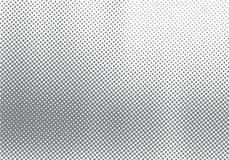 Abstrakter Halbtonbewegungseffekt mit verblassendem Punktabstufungsschwarzweiss-Hintergrund und -beschaffenheit lizenzfreies stockfoto
