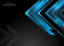 Abstrakter HalloTechnologie Hintergrund Stockfotos