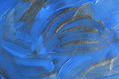 Abstrakter handgemalter Acrylhintergrund Stockfoto