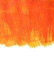 Abstrakter handgemalter Aquarellhintergrund Lizenzfreie Stockbilder