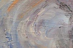 Abstrakter handgemalter Hintergrund auf Segeltuch Lizenzfreie Stockbilder