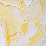 Abstrakter handgemalter Hintergrund auf Segeltuch Lizenzfreies Stockfoto