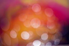 Abstrakter heißer Farbe-bokeh Hintergrund Lizenzfreies Stockbild