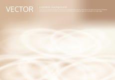 Abstrakter heller beige Hintergrund des Vektors mit silbernen Scheinen, Paillette Lizenzfreies Stockfoto