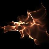 Abstrakter heller Flamme-farbiger Hintergrund lizenzfreie abbildung