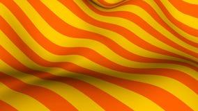 Abstrakter heller Hintergrund mit dem Wellenartig bewegen von bunten Streifen, Wiedergabe 3d lizenzfreie abbildung