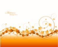 Abstrakter Herbsthintergrund stock abbildung
