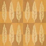 Abstrakter Herbstlaub - nahtloser Hintergrund - Innentapete vektor abbildung
