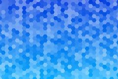 Abstrakter Hexagonhintergrund Stockfotografie