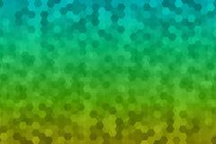 Abstrakter Hexagonhintergrund Stockfoto