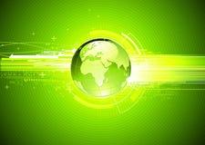 Abstrakter Hightech- Hintergrund Stockfoto