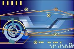 Abstrakter Hightech- Hintergrund Lizenzfreie Stockfotos