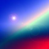Abstrakter Himmel. vektor abbildung