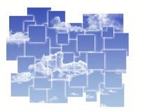 Abstrakter Himmel Stockfoto