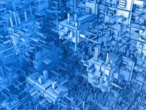 Abstrakter Hintergrund 3d Lizenzfreies Stockfoto