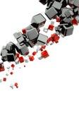 abstrakter Hintergrund 3d Stockfotos