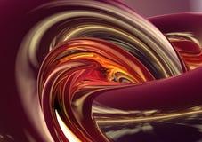 abstrakter Hintergrund 3D Stockbild