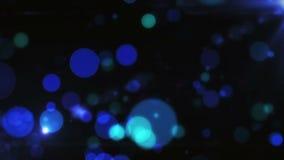 Abstrakter Hintergrund beleuchtet Partikel-Strahlen stock video