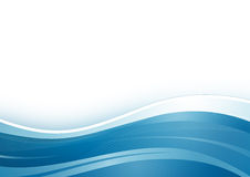 Abstrakter Hintergrund, blau Stockfoto