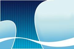 Abstrakter Hintergrund. Blauer Wasserfall lizenzfreie abbildung