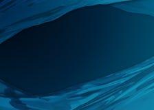 Abstrakter Hintergrund Blauhonig stock abbildung