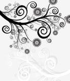Abstrakter Hintergrund - Blumen und die Natur Stockbild